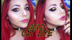 GOLD CAT EYE | COMPLETE MAKEUP TUTORIAL