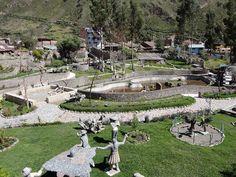 Parque  ecológico de la identidad angaraes. Lircay, Huancavelica.