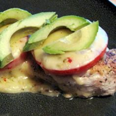 California Chicken with tomato avocado and Monterey Jack