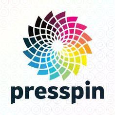 presspin logo logo