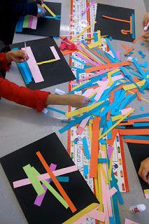 bitz n 'ByTz ......: Kaseberg Residencia Artística: Exploración de color y la línea