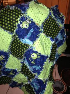 Monsters, Inc.  baby quilt