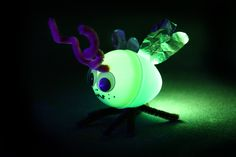 How to Make Illuminated Fireflies from Plastic Easter Eggs in 11 Steps