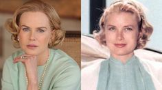 Nicole Kidman / Grace Kelly - Nicole's Grace-ful transformation As her new film Grace of Monaco opens the Cannes Film festival, we see how Nicole Kidman matches up to the Hollywood legend turned princess.