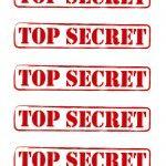 free detective printables | printable top secret signs in decorations printable spy detective ...