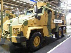 BMC KİRPİ 6X6 Armored personnel carier mrap