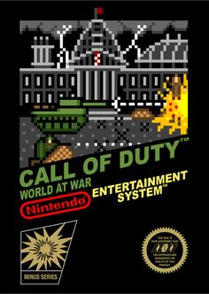 Want to play Call of Duty on the NES? Well, you can't! To soften the wave of feels from this revelation, here is some epic digital art from The Minus World, which reimagines some of your PS3, Xbox 360 and Nintendo Wii favorites, as retro 8-bit awesomeness :) Includes Dead Space, Fallout, Killzone, Little Big Planet, Mario Kart, and Gears of War. Just a funny little video game / gamer meme, because who doesn't want to shoot 8-bit necromorphs with Isaac Clarke, and blow up pixelated tanks :)