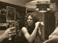 a-dash-of-bourbon:  James @ Metallica Mansion in El Cerrito, CA