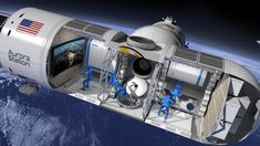 Quanto pagaria por uma noite no espaço?