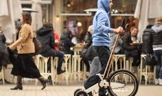 Halfbike.  Not sure how I feel about this - Like a mobile elliptical...What do you think? #innovation