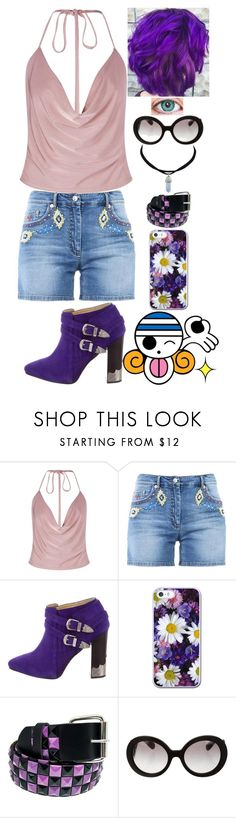 """""""One Piece Inspired"""" by lucy-wolf ❤ liked on Polyvore featuring Boohoo, Moschino, Toga, Faddism and Prada"""