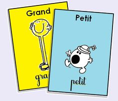 Jeu sur les contraires Tap the link to check out fidgets and sensory toys! Preschool Learning Activities, Preschool Education, French Teacher, Teaching French, Learn French Fast, French Flashcards, French Classroom, Montessori Materials, French Lessons