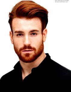 coupe de cheveux homme roux