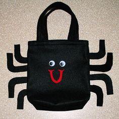 Spider Felt Trick-or-Treat Bag