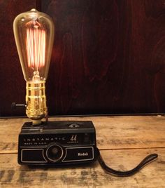 #vintage #camera #industrial #bulb #lamp