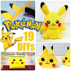 If you love Pokemon Go, you will ADORE these Pikachu crafts and many more Pokemon DIYs