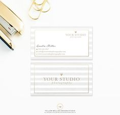 Luxury Business Card Design - Elegant Silver Floral Business Card ...