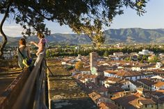 Lucca, the concise guide to the Tuscan walled city. Lucca has many attractions for the tourist, including intact ramparts you can walk or bike around.