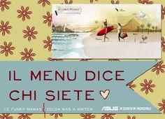 Blog: il menu