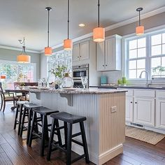 The #Kitchen of the #Ariel model at 1525 Zestar Drive, #Mechanicsburg in #Orchard Glen. 2015 Harrisburg #ParadeOfHomes award winner!