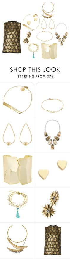 """smiles are always in fashion"" by emmamegan-5678 ❤ liked on Polyvore featuring Coordinates Collection, Schield Collection, Jennifer Fisher, Kendra Scott, Jennifer Meyer Jewelry, Chanael K, Futuro Remoto, Katerina Psoma, Ganni and modern"