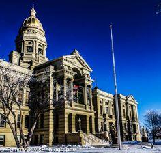 Historic Cheyenne courthouse
