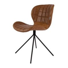Zuiver Stoel OMG PU leer (meerdere kleur verkrijgbaar) met stoer stalen frame. Met heerlijk zitcomfort! Zen Lifestyle is gevestigd in Wijchen,  heeft showroom van 10.000 m². Natuurlijk vind je in onze winkel onze eigen producten, zoals ons aanbod vintage en retro banken, onze topsellers, zoals het vintage tv-dressoir Stan. Maar ook hebben wij de mooie collectie van Zuiver en Duchtbone en vind je er nog veel meer topmerken, zoals Be Pure, JouwMeubel, UrbanSofa, Fatboy, Makkii, Woood etc.