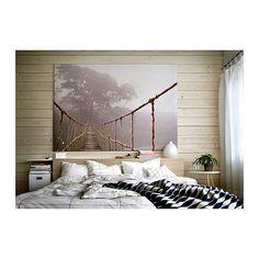 PREMIÄR Afbeelding zonder lijst IKEA Motief van Skip Nall. Met een groot schilderij kan je een hele kamer een bepaalde sfeer/stemming geven....