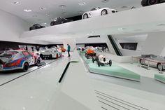 Porsche Museum Stuttgart Interior design reference