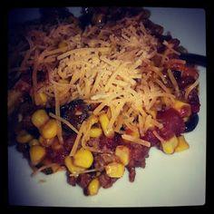 Heat's Kitchen: Taco Casserole Supreme