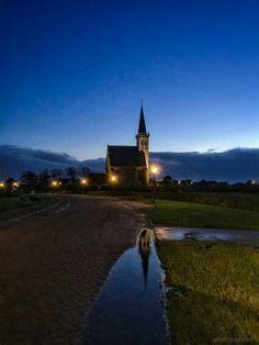 Den Hoorn, kerkje op Texel ©lisetteoptexel