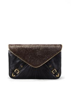calfhair is the new black. Maria Convertible Clutch by Rebecca Minkoff Collection on Gilt.com