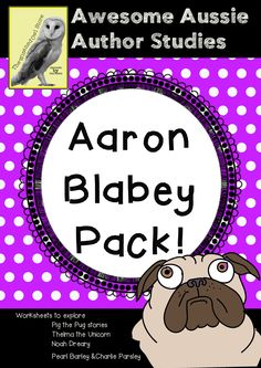Who doesn't love Aaron Blabey's books! They are quality texts with fantastic humour and terrific moral lessons to introduce into the …
