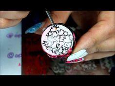 advanced nail stamping + watermarle = ?????? VDAY NAILS - YouTube