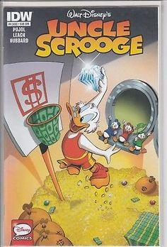 Uncle Scrooge #4 (408) Variant Edition Cover IDW Comics Walt Disney comic book