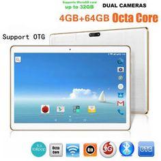 a 101 tablet pc 4g64g android 60 ocho nucleos doble sim telefono y camara wifi phablet