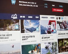 Rå Sport by Unfold , via Behance