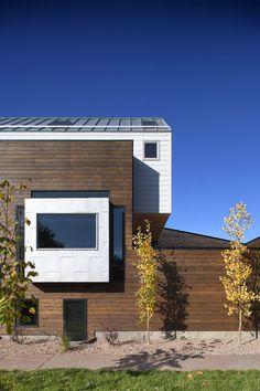 Modern home designed to keep away urban city noises