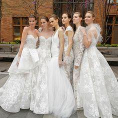 Bridal Week NYC: Die aktuellen Brautkleider-Trends 2018
