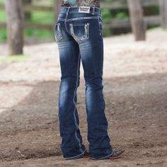 Studded Stones Jeans by Rock and Roll Cowgirl
