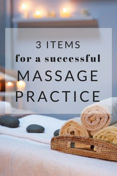"""Stop asking """"what if"""" and consider these three items to launch a successful practice. Massage For Men, Massage Tips, Thai Massage, Massage Benefits, Massage Techniques, Health Benefits, Massage Room Decor, Massage Therapy Rooms, Massage Therapy School"""