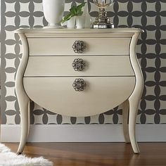 Functional and design-forward, this Hooker Furniture Melange Pippa Bombe Chest is the perfect addition to your living room. Hooker Furniture, Find Furniture, Painted Furniture, Furniture Design, Furniture Decor, Interior Decorating, Interior Design, Storage Design, Creative Decor