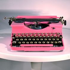 We'd like to write you a letter on this vintage typewriter...