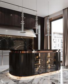 Luxury Kitchen Design, Kitchen Room Design, Luxury Kitchens, Home Decor Kitchen, Kitchen Ideas, Home Decor Styles, Home Decor Accessories, Cheap Home Decor, Luxury Home Decor