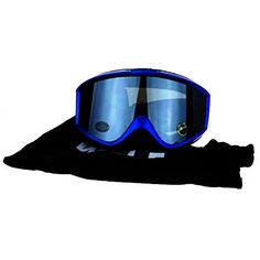 a7825d77ca WOLF Brand Mens Retro Rectangular Anti Fog Lens Foam Pad Snowboard Ski  Goggle Blue Black   Find out more about the great product at the image link. Note It ...