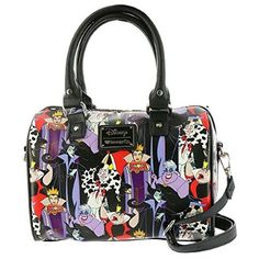 Disney Villain Duffle bag from Loungefly. Super cute Disney bag that costs much less than some of the other options out there. #affiliate