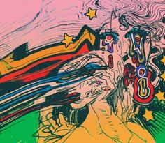 Nothing will die Arte Hippy, Arte Indie, Posca Art, Arte Obscura, Art Hoe, Wow Art, Hippie Art, Weird Art, Psychedelic Art