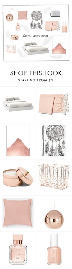 """""""sweet dreams"""" by crush-in-fashion ❤ liked on Polyvore featuring interior, interiors, interior design, home, home decor, interior decorating, Nexera, Brahms Mount, U Brands and Tom Dixon"""