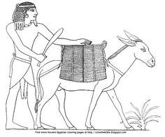 Line drawing after Prisse d'Avennes, Histoire de l'art égyptien d'après les monuments depuis les temps les plus reculés jusqu'à la domination romaine