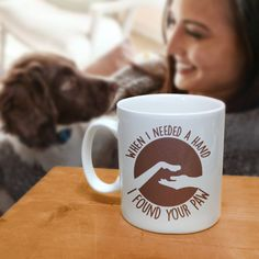 This #coffeemug makes a great #gift for #doglovers or #catlovers on their birthday, Christmas or any occasion. This 11 oz. mug is made from the highest grade ceramic, and the designs are printed and sublimated in the United States. It is 100% dishwasher and microwave safe; the print will never fade. #giftideas #Mugs #birthdaygift #gifts #ceramicmugs #dogmug #DogLoverMug #christmasgift #catlovermug